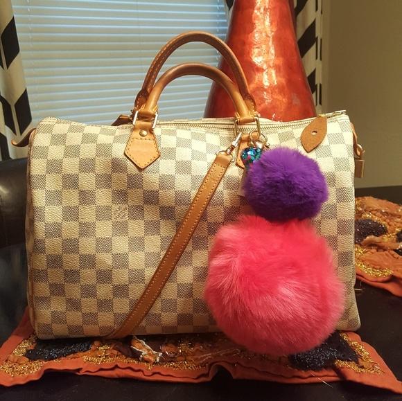Louis Vuitton Handbags - 🕹 Louis Vuitton Damier Azur Speedy 35
